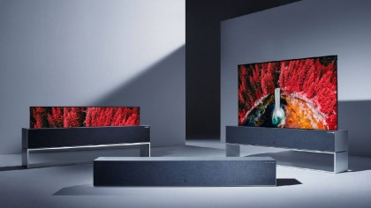 LG Reveals Its Roll-Up Television Screen, and It Is A Thing of Beauty