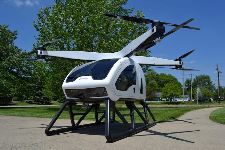 This Passenger Drone Is Set to Have Its First Test Flight Next Week