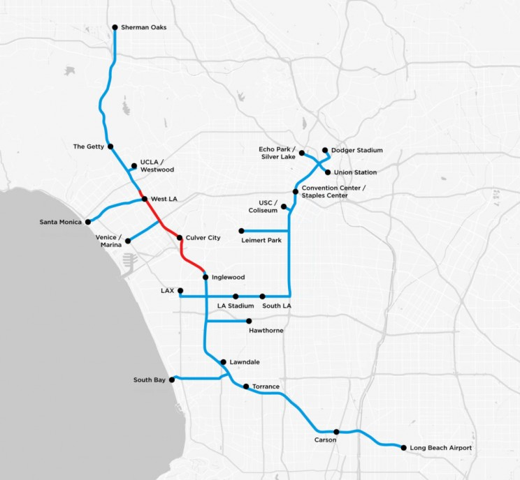 The Boring Company Presents Plans for 6.5-Mile LA Tunnel to City Council and Public