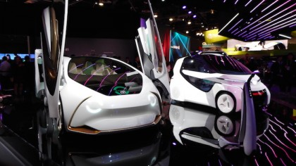 Toyota Unveils a Series of Ambitious Concept Vehicles and Its Future of Mobility Plans at CES