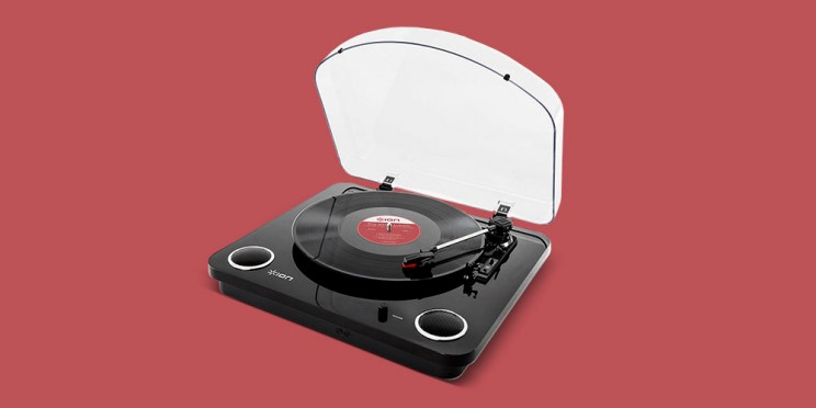 This Hybrid Turntable Digitizes Your Vinyl Records