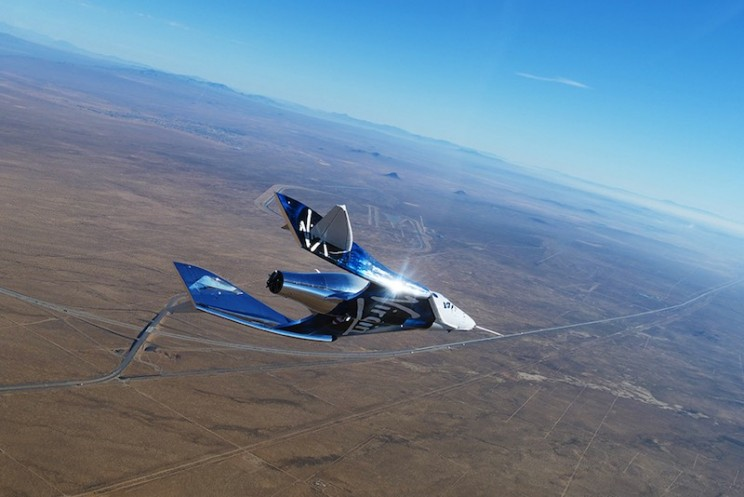 Virgin Galactic's VSS Unity Hits Mach 0.9 on 7th Glide Flight