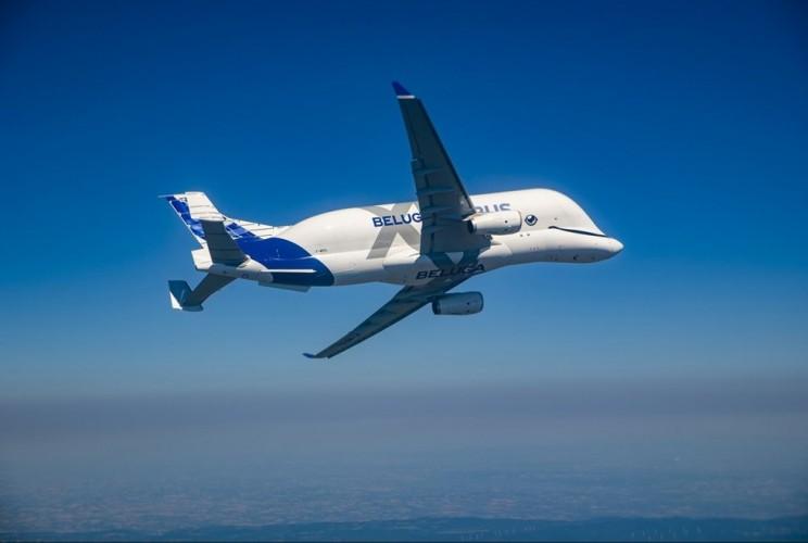 "The Most Distinct Looking Plane ""BelugaXL"" Took Its First Flight"