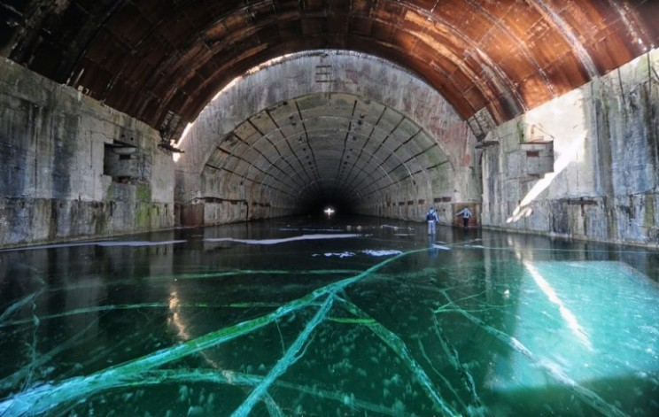 Abandoned Soviet Submarine Base