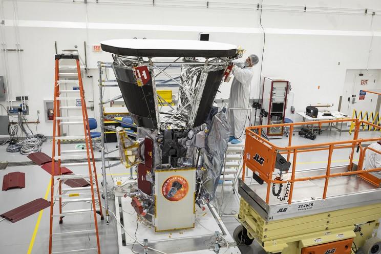 Parker Solar Probe Cooling System