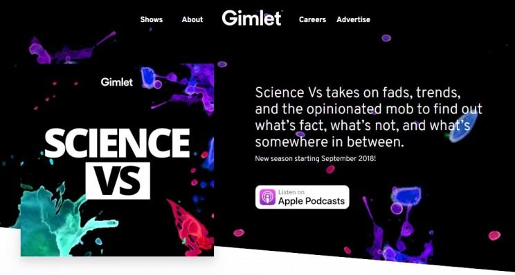 Science Vs Science Podcast