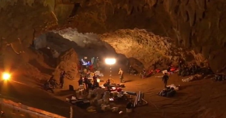 Thailand Cave Rescue Mission Underway as Weather Prevails
