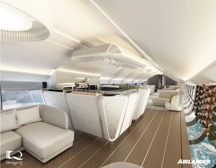 Meet the New Airlander 10: World's Largest Aircraft with Luxurious Bedrooms and Glass Floors