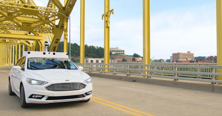 Ford Commits to Spend $4 Billion on Autonomous Vehicles