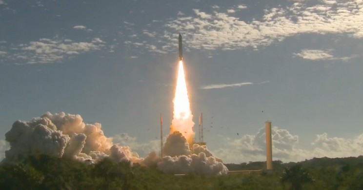 Arianespace Successfully Launches Ariane 5 Rocket Carrying Four Galileo Satellites