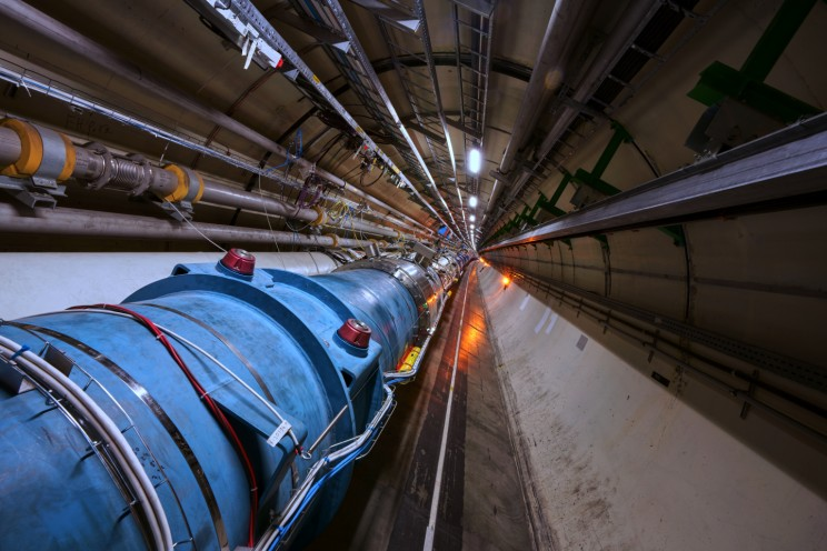 CERN's Large Hadron Collider Accelerates its First 'Atoms'