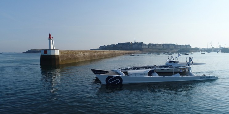The World's First Autonomous Hydrogen Boat Takes a Trip Around the World