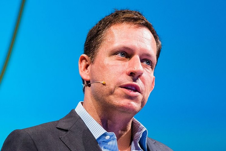 Peter Thiel Co-Founder of PayPal