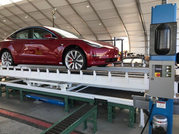 Tesla Releases Footage of Model 3 Drifting During Testing
