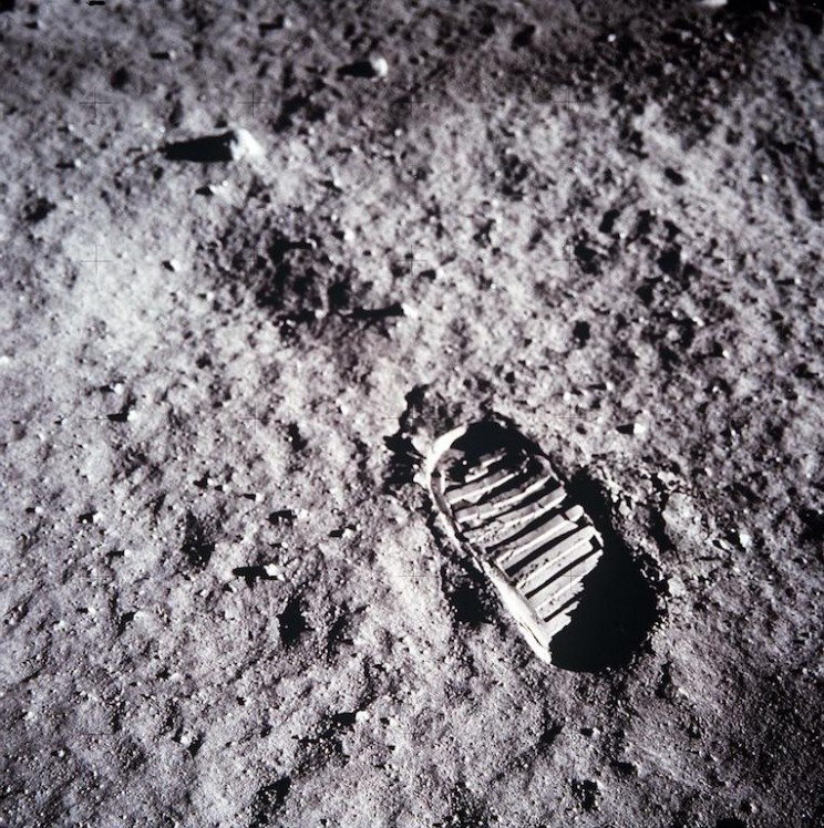 Neil Armstrong's step on the moon