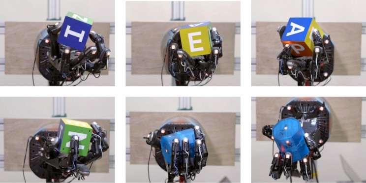 OpenAI's Robot Hand Learns to Handle Objects With Near Human-like Dexterity