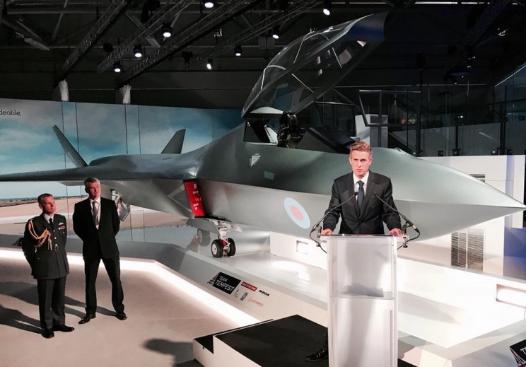 UK Unveils New Unmanned Fighter Jet 'Tempest' for Future Warfare