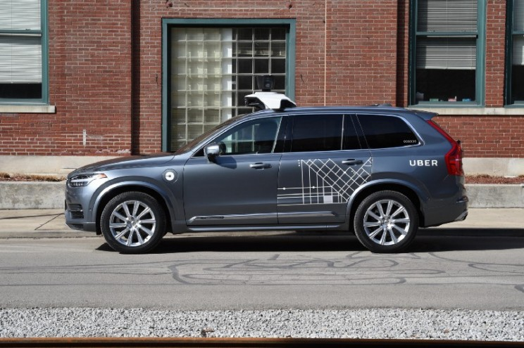 Uber Puts Self-Driving Cars Back to Work but With Human Drivers