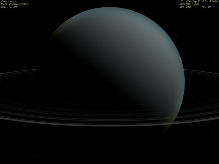 Uranus Struck By Massive Object That Changed it Forever