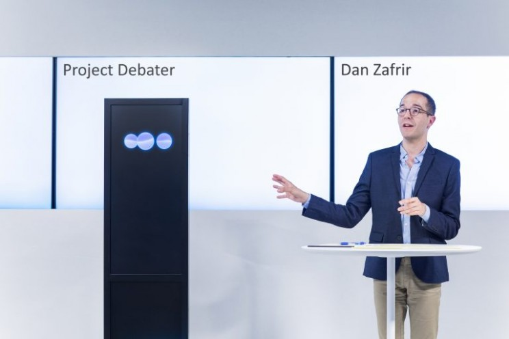 IBM's Debating Robot Takes on Its First Human Opponents
