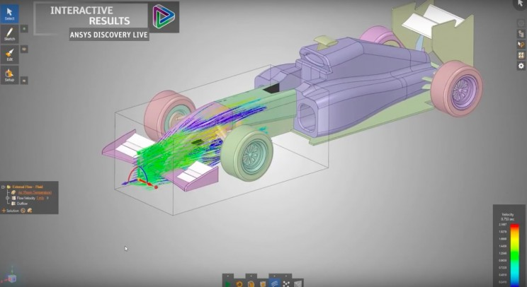 ANSYS Discovery Helps HyperXite Design with Confidence
