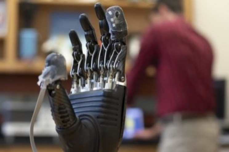 New Electronic Skin Restores Sense of Touch to Prosthetic Hands