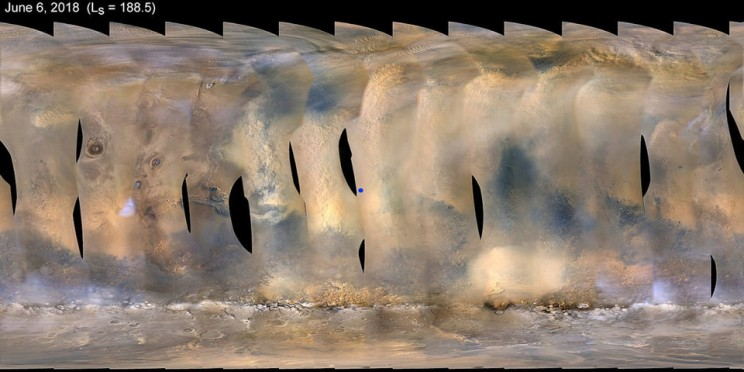NASA Lost Communication with Opportunity Rover During Martian Dust Storm