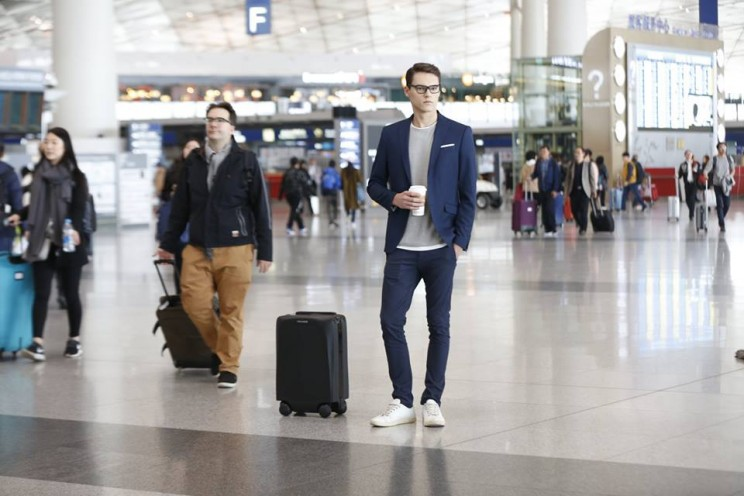 This Vision-Powered Carry-on Luggage Can Follow Alongside You
