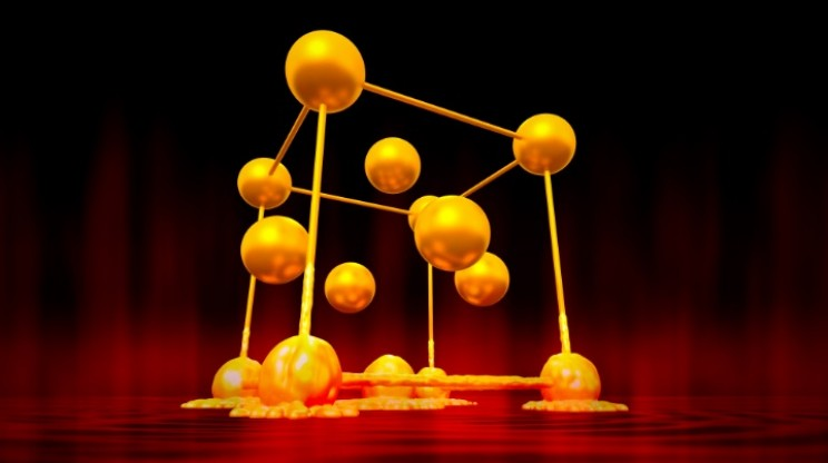Atomic Movie of Melting Gold Could Aid in Fusion Reactor Design