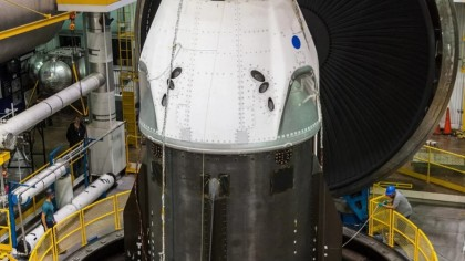 Here's SpaceX's First Ever Crew Dragon Spaceship