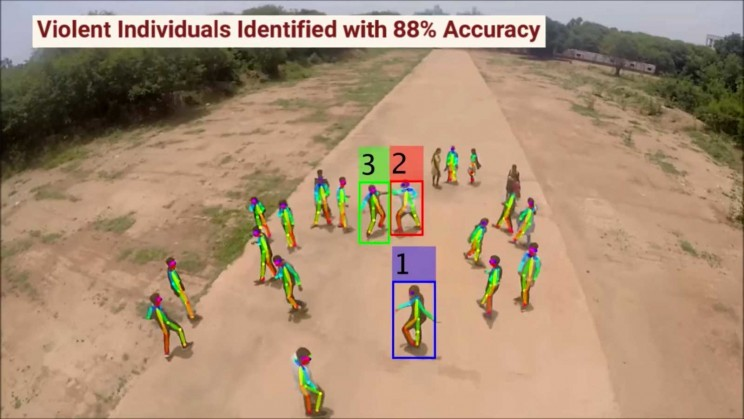 Scientists Develop AI-Enabled Drones That Can Detect Violence in Crowds