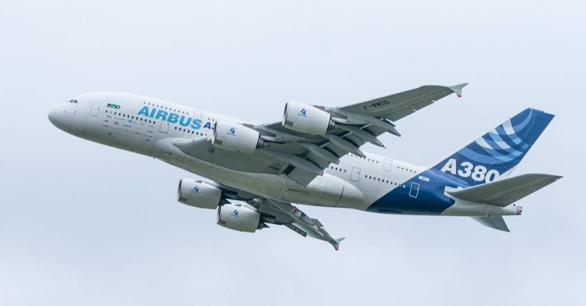 The History Of The Airbus A380