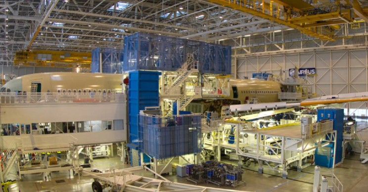 Airbus Assembly Line Toulouse