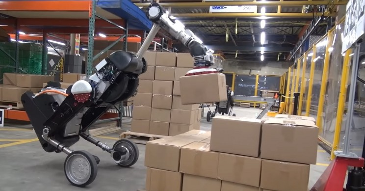 Boston Dynamics Releases Video of Handle, a New Warehouse Work Robot