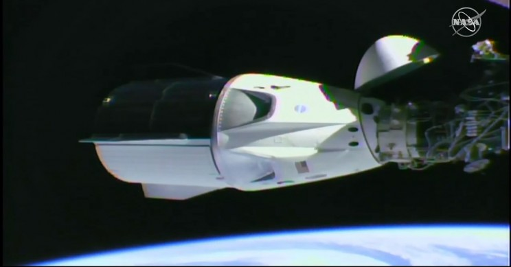 SpaceX's Dragon Crew Capsule Successfully Docks With ISS