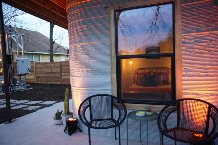 This $10,000 3D-Printed Concrete House Took Only 24 Hours to