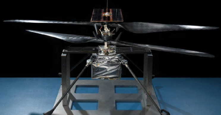 NASA's Mars Helicopter Took Flight for the First Time