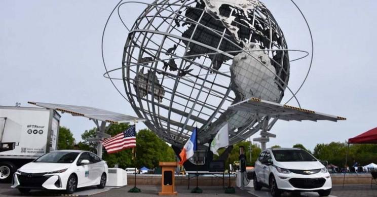 NYC Fleet Globe
