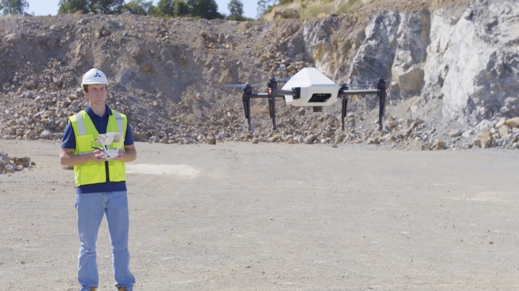 Drone Leader DJI Is Manufacturing 1,000 Industrial Drones for a Construction Company