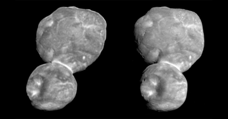 NASA Releases New Images of Ultima Thule in 3D