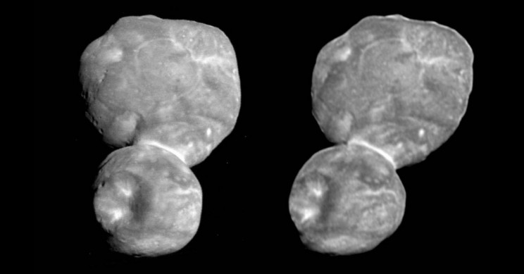 Ultima Thule Parallel View