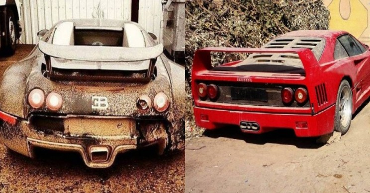 7 Super Expensive Cars That Were Abandoned