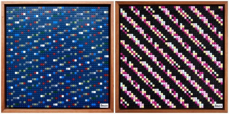 These Lego Artworks Hold Codes to $10,000 Worth of Cryptocurrencies