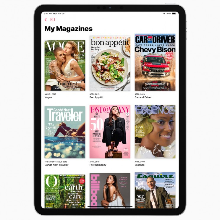 Apple News+ Provides Premium Magazine Content for Just $120 a Year