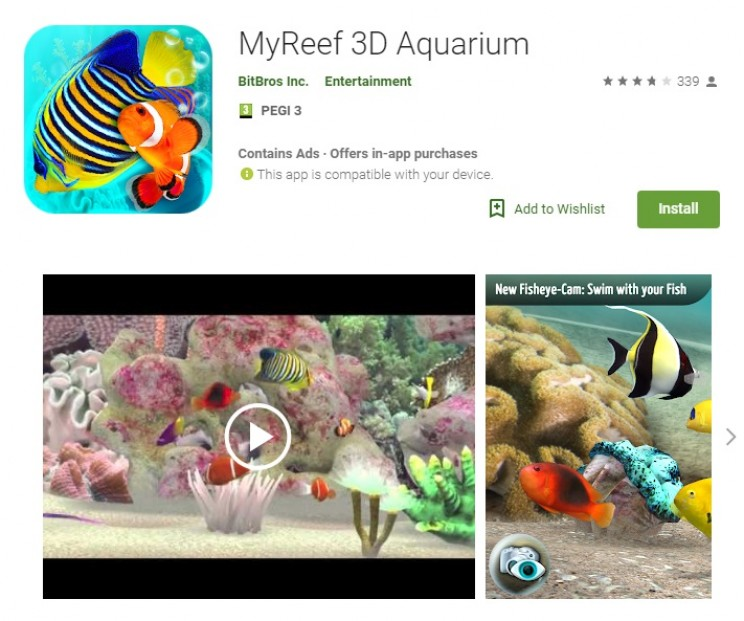 apps for alzheimers My Reef