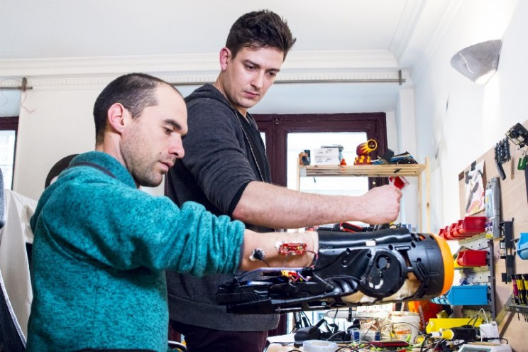 Engineers Build a Prosthetic Nerf Gun That Can Be Fired Using Muscle Activity