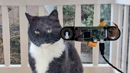 This Engineer Built a Facial Recognition Device to Know When His Cats Wants to Come in