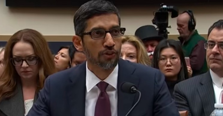 Google CEO to Face U.S Government Questions Over AI Branch in China