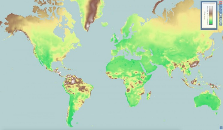 New Interactive Climate Change Map Shows Global Similarities