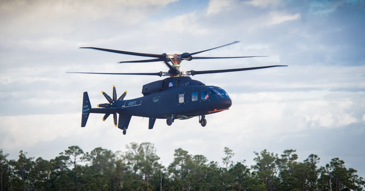 Boeing's Latest Military Helicopter The SB-1 Defiant Takes Flight